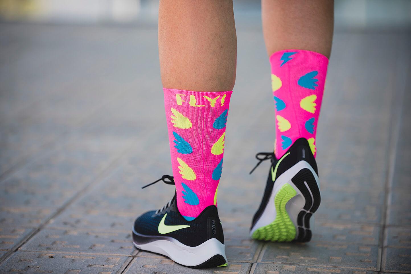 calcetines running semicompresivos